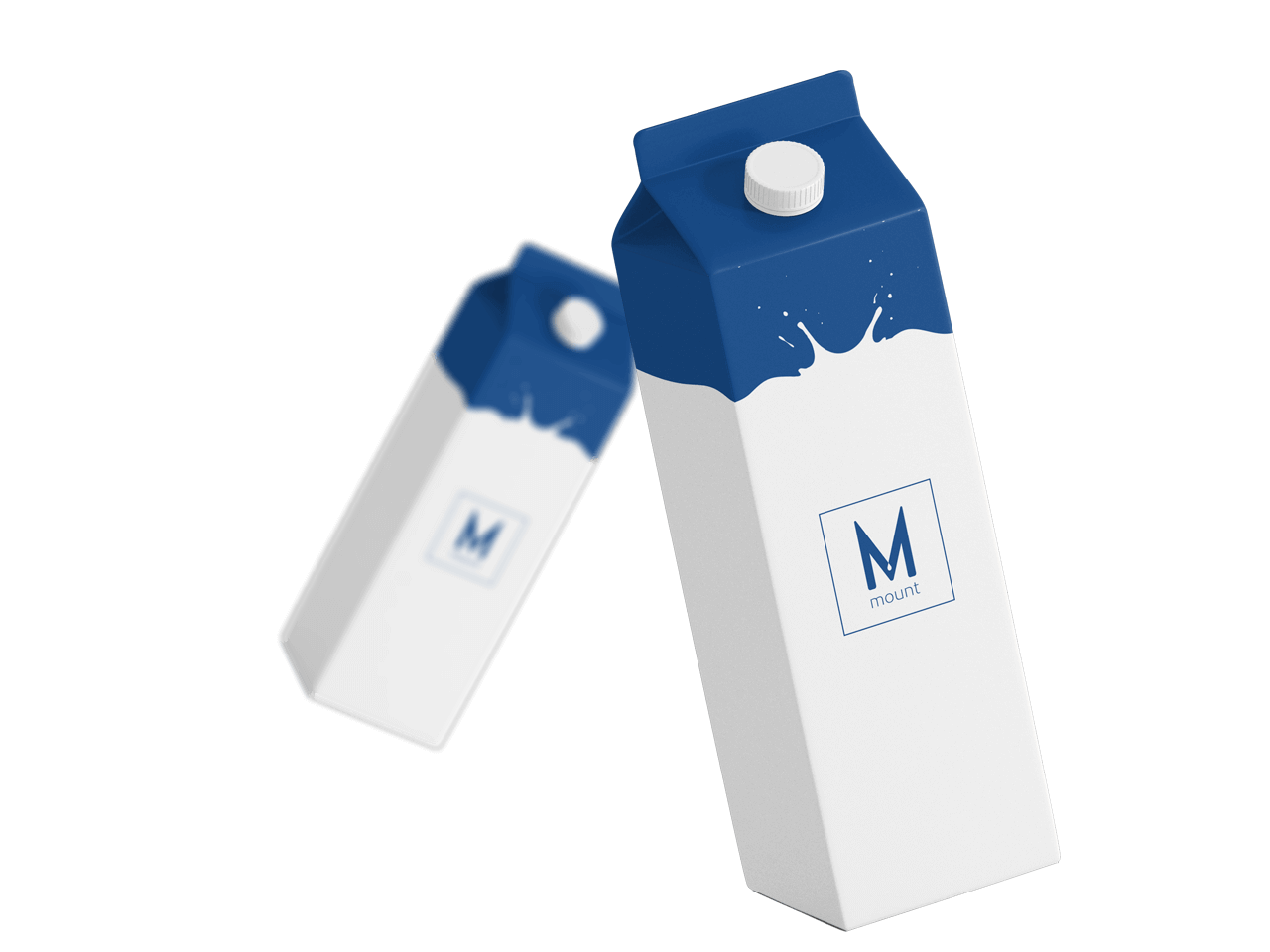 Mount Packaging - Food & Beverages Milk Cartons