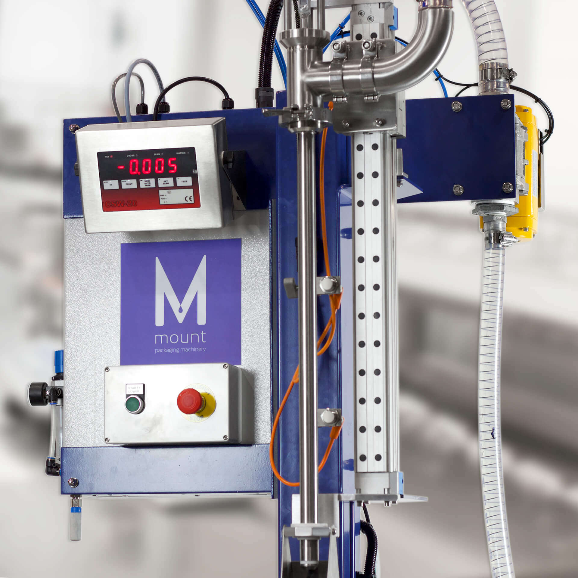 Mount Packaging - Paint Machinery
